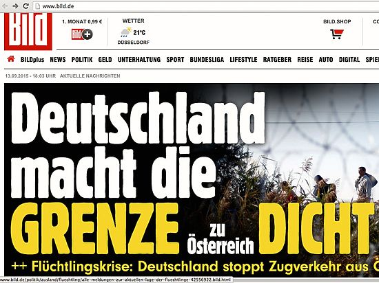 Германия закрыла границу с Австрией и приостановила железнодорожное сообщение